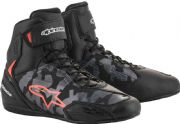Alpinestars Faster3 Shoes Black/Camo/Red
